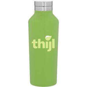 16.9oz H2go Manhattan Bottle (Matte Lime)