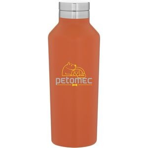 16.9oz H2go Manhattan Bottle (Matte Orange)
